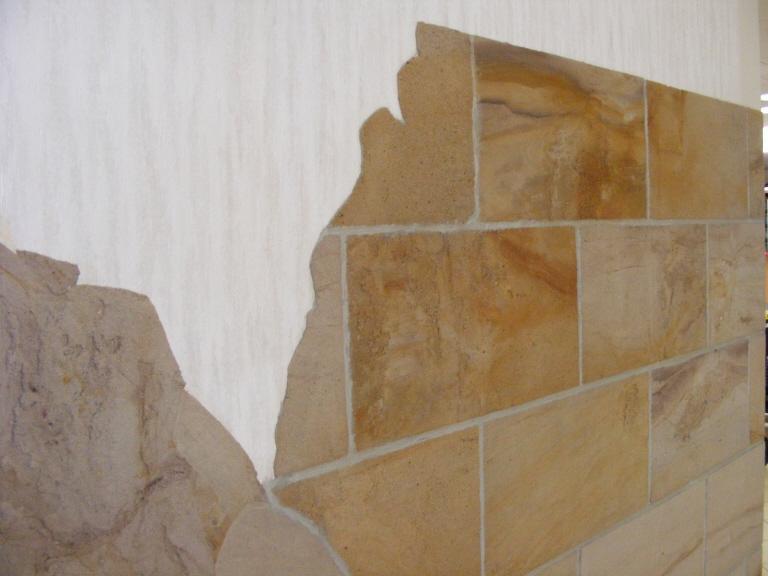Flexibler Sandstein Fliesen Griesbach Burgstadt Fliesen